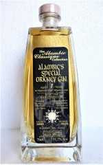 ALAMBIC'S SPECIAL ORKNEY GIN 2009 7 JAHRE IN EINEM HIGHLAND PARK WHISKYFASS GEREIFT, 51,7% VOL ALAMBIC CLASSIQUE