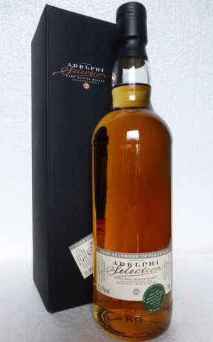 AULTMORE 2000 REFILL SHERRY CASK  55% VOL ADELPHI