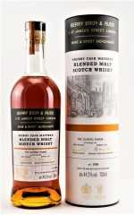 BLENDED MALT SCOTCH WHISKY THE CLASSIC RANGE SHERRY CASK 44,2% VOL BERRY BROS & RUDD