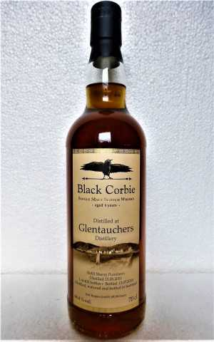GLENTAUCHERS 2010 REFILL SHERRY PUNCHEON 66,4% VOL BLACK CORBIE