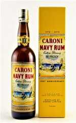 CARONI NAVY RUM 100TH ANNIVERSARY  EXTRA STRONG 90° PROOF 18 JAHRE 51,4% VOL VELIER & LA MAISON DU WHISKY