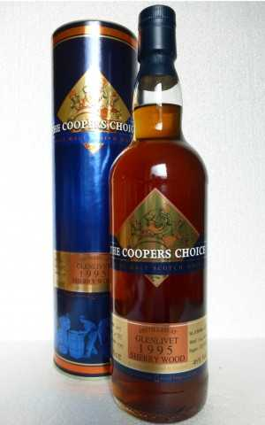 GLENLIVET 1995 SHERRY HOGSHEAD 46% VOL COOPERS CHOICE