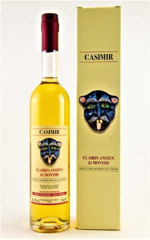 CLAIRIN ANSYEN CASIMIR 2016 21 MONATE IN EX-CARONIFÄSSERN 50,1% VOL SELECTED FOR GERMANY