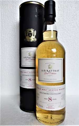 AULTMORE 2009 BOURBON BARREL 57,5% VOL A. D. RATTRAY