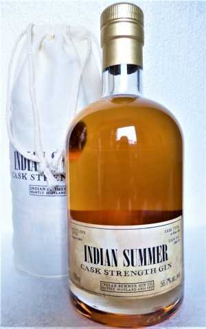 INDIAN SUMMER CASK STRENGTH GIN EX-CAOL ILA SHERRY CASK 56,7% VOL DUNCAN TAYLOR