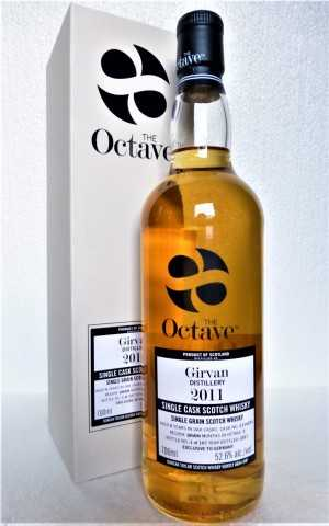 GIRVAN 2011 THE OCTAVE EXCLUSIVE FOR GERMANY SHERRY OCTAVE CASK 52,6% VOL DUNCAN TAYLOR