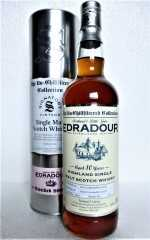 EDRADOUR 2007 THE UN-CHILLFILTERED COLLECTION 10 JAHRE 46% VOL SIGNATORY