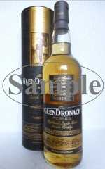 GLENDRONACH PEATED BOURBON CASK, FINISHED IN PX & OLOROSO SHERRY CASKS 46% VOL ORIGINALABFÜLLUNG SAMPLE