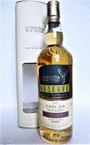 CAOL ILA 2005 EXCLUSIVE FOR GERMANY FIRST FILL BOURBON BARREL 52,6% VOL GORDON & MACPHAIL RESERVE