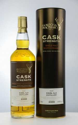 CAOL ILA 2006 FIRST FILL SHERRY BUTTS 59,8% VOL GORDON & MACPHAIL CASK STRENGTH