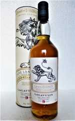 LAGAVULIN 9 JAHRE HOUSE LANNISTER 46% VOL GAME OF THRONES