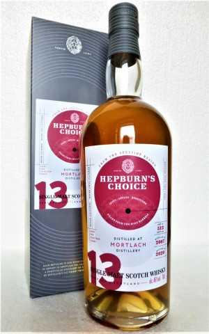 MORTLACH 2007 WINE BARREL 46% VOL HEPBURN´S CHOICE