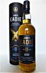 DAILUAINE 2009 REFILL HOGSHEAD 55,6% VOL JAMES EADIE