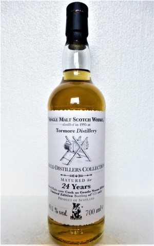 TORMORE 1995 BOURBON CASK 49,1% VOL AULD DISTILLERS COLLECTION JACK WIEBERS WHISKY WORLD