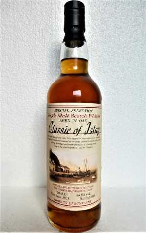 CLASSIC OF ISLAY 2018 55,6% VOL (LAGAVULIN?) JACK WIEBERS