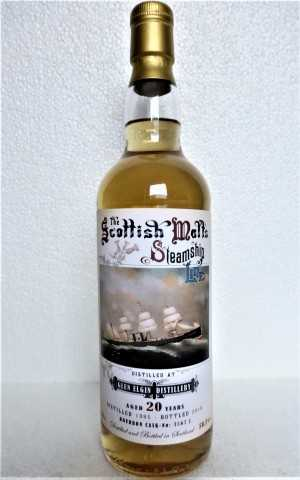 GLEN ELGIN 1995 BOURBON CASK 50,3% VOL THE SCOTTISH MALT´S STEAMSHIP LINE JACK WIEBERS