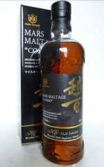 MARS MALTAGE COSMO BLENDED MALT JAPANESE WHISKY 43% VOL ORIGINALABFÜLLUNG