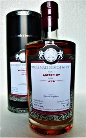 ABERFELDY 2000 MARSALA HOGSHEAD FINISH 50,7% VOL MALTS OF SCOTLAND