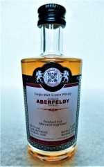 ABERFELDY 2000 MARSALA HOGSHEAD FINISH 50,7% VOL MALTS OF SCOTLAND MINIATUR