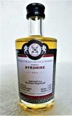 AYRSHIRE 1991 BOURBON HOGSHEAD 49,8% VOL MALTS OF SCOTLAND MINIATUR