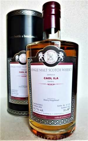 CAOL ILA 2000 SHERRY HOGSHEAD 52,7% VOL MALTS OF SCOTLAND