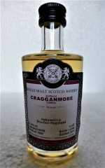 CRAGGANMORE 1999 BOURBON HOGSHEAD 51,2% VOL MALTS OF SCOTLAND MINIATUR