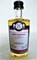 CROFTENGEA 2006 BOURBON HOGSHEAD 52% VOL MALTS OF SCOTLAND MINIATUR