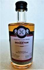 DEANSTON 2010 MARSALA HOGSHEAD FINISH 55,9% VOL MALTS OF SCOTLAND MINIATUR