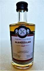 GLENDULLAN 1996 SHERRY HOGSHEAD 50,8% VOL MALTS OF SCOTLAND MINIATUR