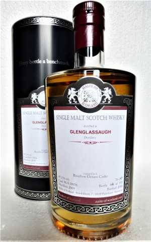 GLENGLASSAUGH 2009 4 BOURBON OCTAVE CASKS 49,2% VOL MALTS OF SCOTLAND
