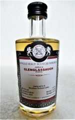 GLENGLASSAUGH 2009 4 BOURBON OCTAVE CASKS 49,2% VOL MALTS OF SCOTLAND MINIATUR