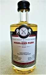 HIGHLAND PARK 1996 BOURBON HOGSHEAD 52,8% VOL MALTS OF SCOTLAND MINIATUR