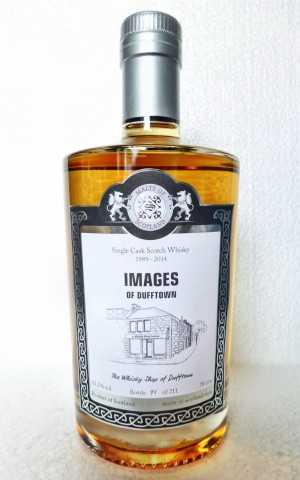 IMAGES OF DUFFTOWN 1989 WHISKYSHOP DUFFTOWN 53,2% VOL MALTS OF SCOTLAND