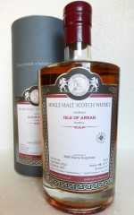 ISLE OF ARRAN (PEATED) 2005 REFILL SHERRY HOGSHEAD 54,5% VOL MALTS OF SCOTLAND
