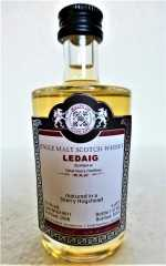 LEDAIG 2008 SHERRY HOGSHEAD 55,1% VOL MALTS OF SCOTLAND MINIATUR
