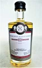 MANNOCHMORE 2010 BOURBON HOGSHEAD 55,6% VOL MALTS OF SCOTLAND MINIATUR