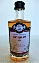 MILTONDUFF 2007 MARSALA HOGSHEAD FINISH 55,2% VOL MALTS OF SCOTLAND MINIATUR