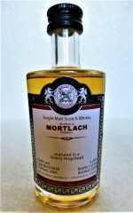 MORTLACH 2006 SHERRY HOGSHEAD 53,4% VOL MALTS OF SCOTLAND MINIATUR