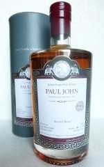 PAUL JOHN 2009 MALTS OF INDIA BOURBON BARREL, PEATED 58,4% VOL MALTS OF SCOTLAND
