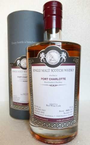 PORT CHARLOTTE 2002 RED WINE CASK 56,3% VOL MALTS OF SCOTLAND