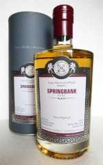 SPRINGBANK 1998 SHERRY HOGSHEAD 49,2% VOL MALTS OF SCOTLAND