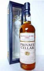 GLENALLACHIE 1995 43% VOL  PRIVATE CELLAR CASK SELECTION