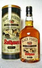 ROTHAUS BLACK FOREST SINGLE MALT BOURBON CASK 43% VOL ORIGINALABF�LLUNG