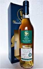 SAVANNA 2010 SINGLE CASK RUM EX- COGNAC CASK 48,1% VOL ORIGINALABFÜLLUNG