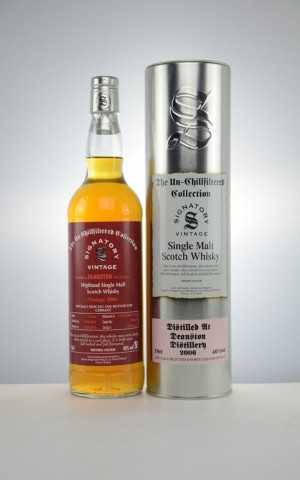 DEANSTON 2006 EXCLUSIVE FOR GERMANY THE UN-CHILLFILTERED COLLECTION FIRST FILL SHERRY BUTT 46% VOL SIGNATORY