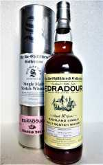 EDRADOUR 2010 THE UN-CHILLFILTERED COLLECTION 10 JAHRE 46% VOL FASS NR. 159 SIGNATORY
