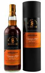 EDRADOUR 2012 EXCLUSIVE FOR GERMANY SHERRY AND BOURBON CASK 48,1% VOL SIGNATORY SMALL BATCH EDITION #8