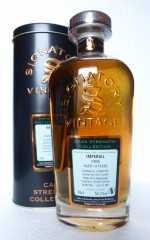 IMPERIAL 1995 HOGSHEADS 52,2% VOL SIGNATORY CASK STRENGTH COLLECTION