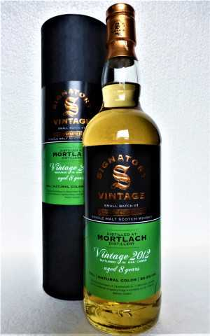 MORTLACH 2012 FOR GERMANY REFILL HOGS. & SHERRY BUTT 59,9% VOL SMALL BATCH CASK STRENGTH ED. #1 SIGNATORY