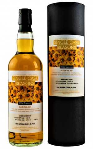 BLAIR ATHOL 2007 SINGLE CASK SEASONS SUMMER 2020 48,4% VOL SIGNATORY SELECTED BY KIRSCH WHISKY IMPORT